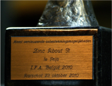 Guus Fricke vertelt over de t'URN en dingt mee in 2009 voor de de International Funeral Award