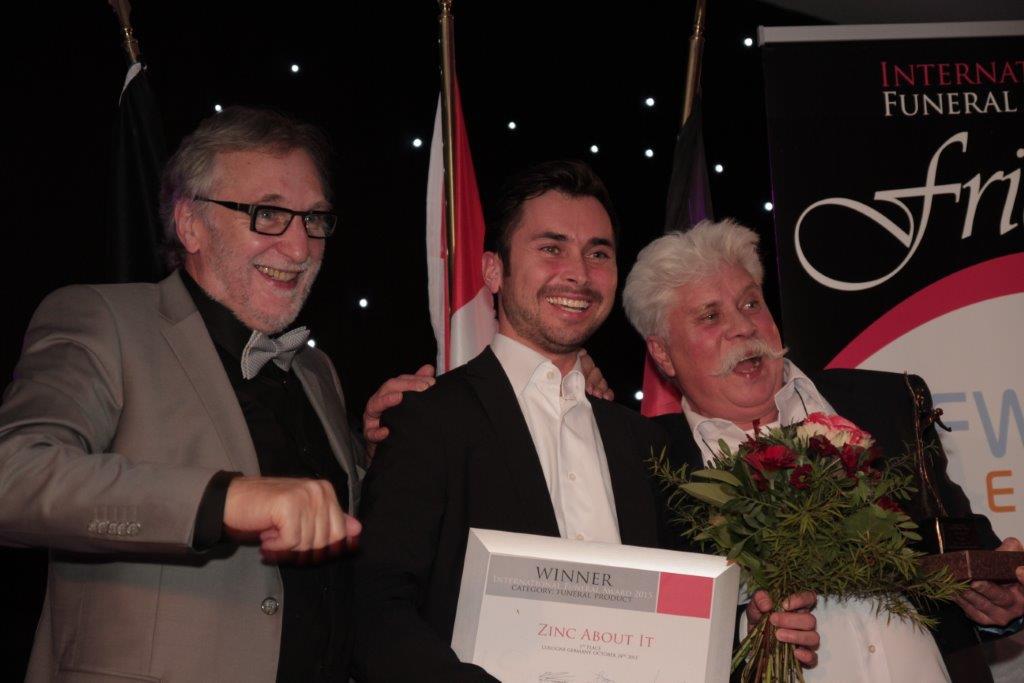 Ontvangst 1e prijs IFA Award 2015